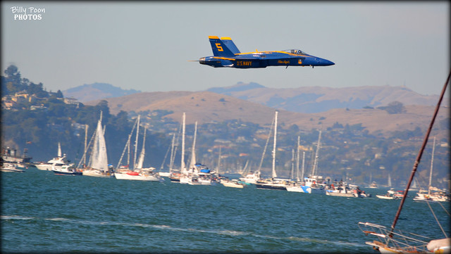 The Blue Angels Fleet Week San Francisco 2016