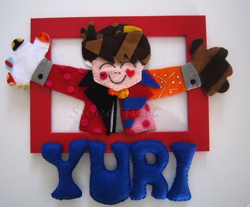 ♥♥♥ O abraco do Yuri... by sweetfelt \ ideias em feltro