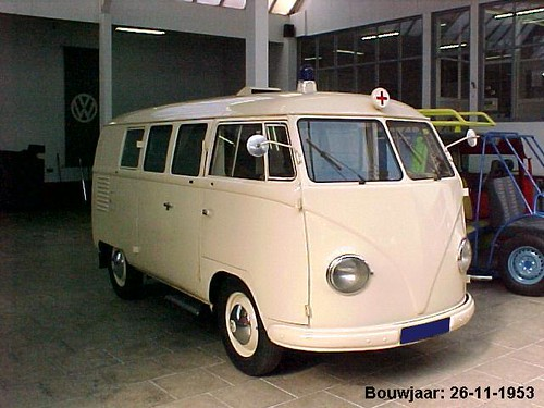 PK-65-74 Volkswagen Transporter Ambulance 1953