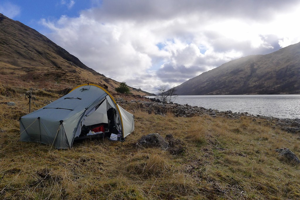 Scarp 1 besides Loch Shiel