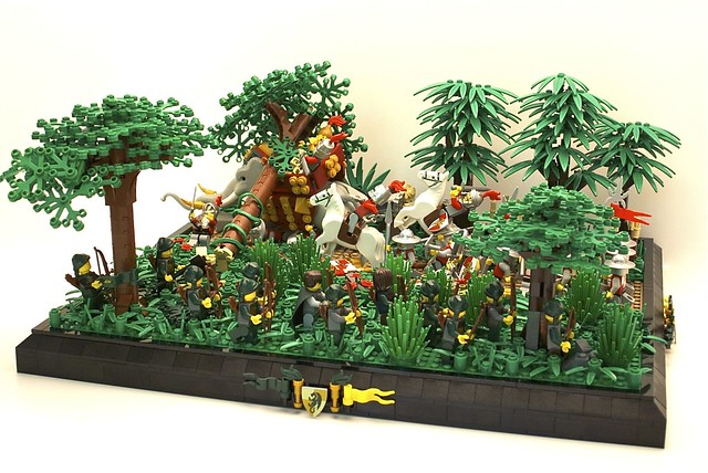 Lenfel Scout Snipers:  Taking Down A War Elephant