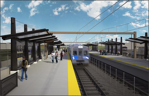 Rendering of 40th and Colorado Station