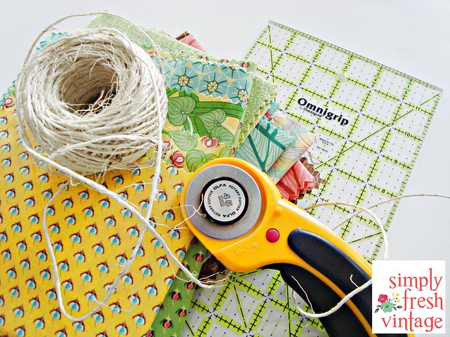Quick & Easy Bunting ... Materials