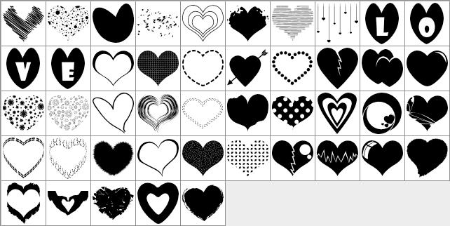 45-hearts-list