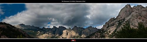 Río Manzanares | La pedriza | Madrid | Panorámica by alrojo09