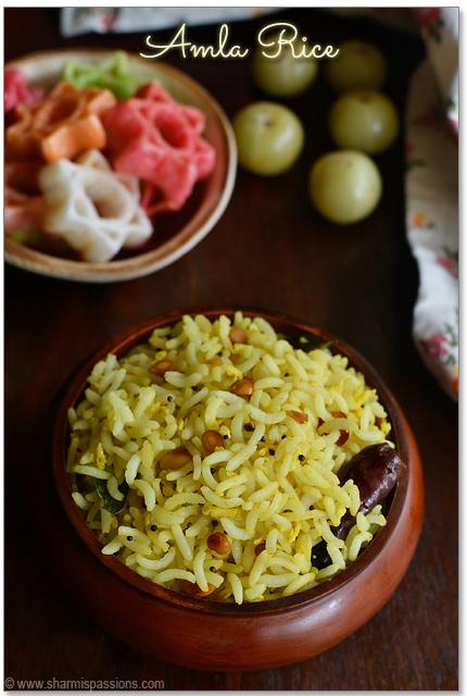 Amla Rice Recipe - Step3