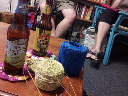 Knit night!