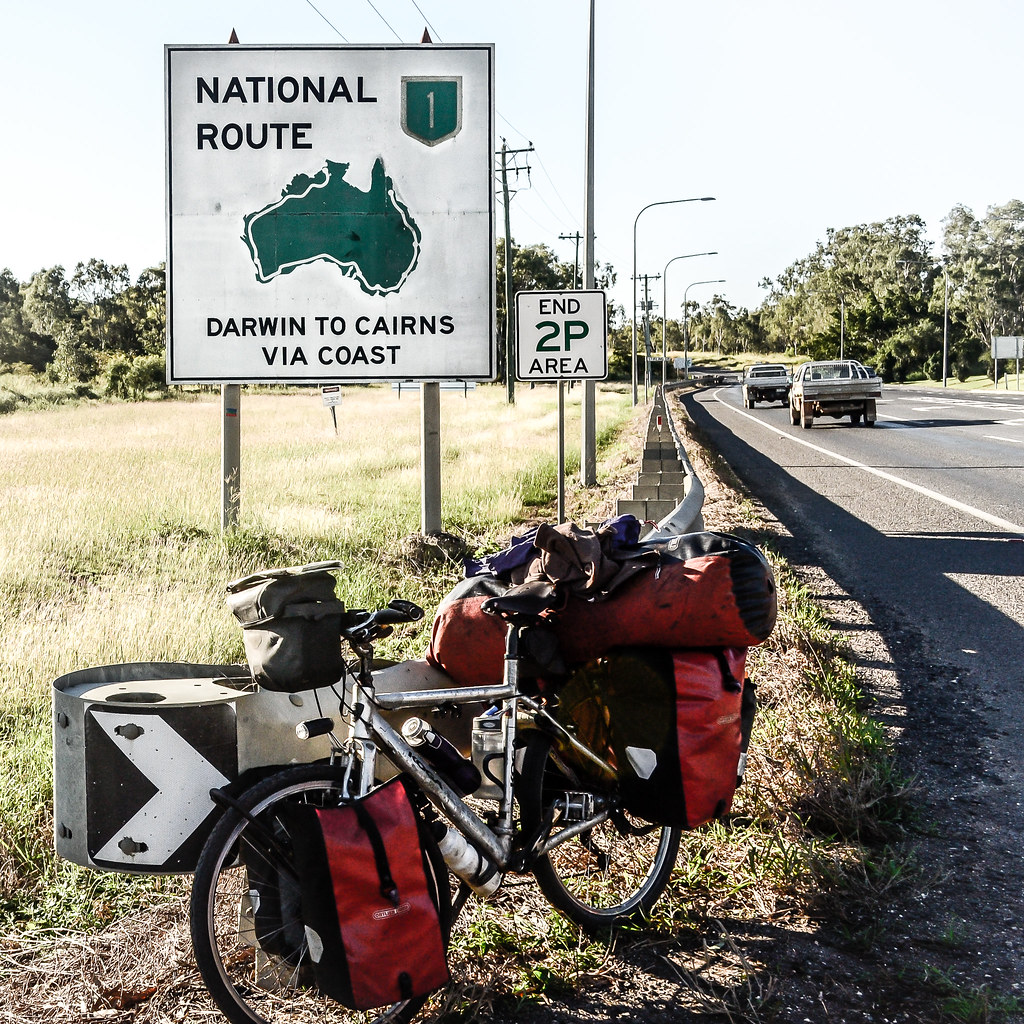 cycling the a1 in Australia