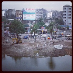 "it is going to be - ""once upon a time, there was a #pond!"" #Dhaka #Bangladesh"