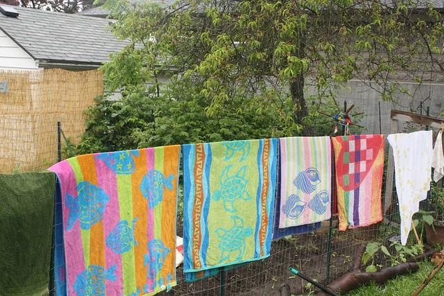 impromptu clothesline