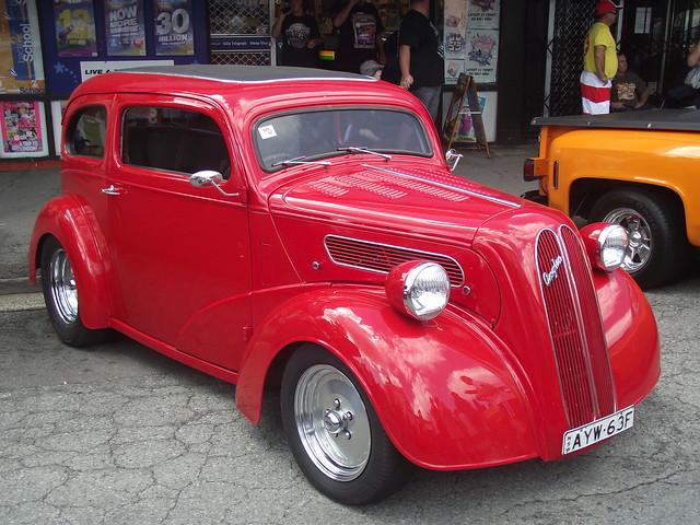 1950 Ford Anglia Hot Rod