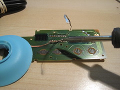 Step 4: Desolder the 4021 chip