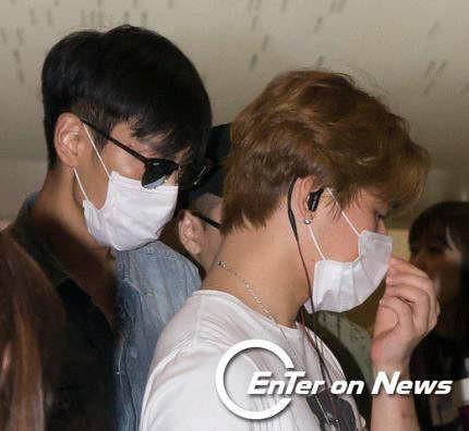 BIGBANG wout Seungri departure Seoul to Tokyo 2016-08-26 2 (5)