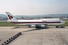 Thai Airways International Boeing 747-4D7 HS-TGH  'Chaiprakarn'