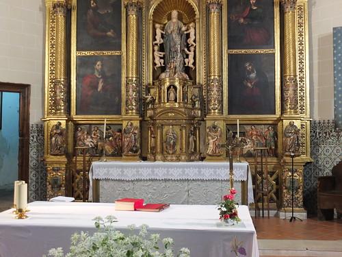 Iglesia de la Asunción de Nuestra Señora - Parte inferior retablo mayor