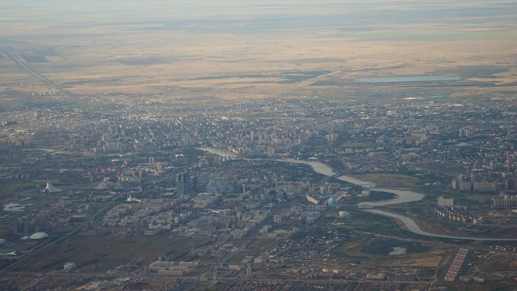 Astana aerial view