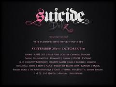 Suicide Dollz Sept 25-Oct7th