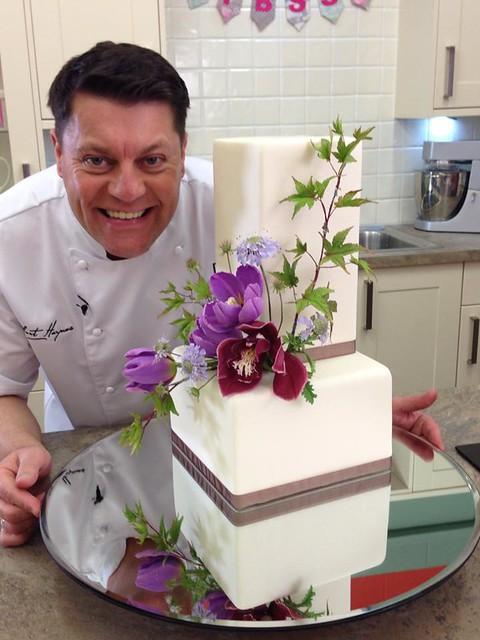 Cake from Paul Bradford Sugarcraft School