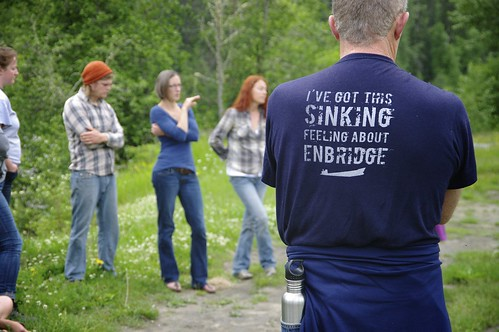 I've got this sinking feeling about Enbridge