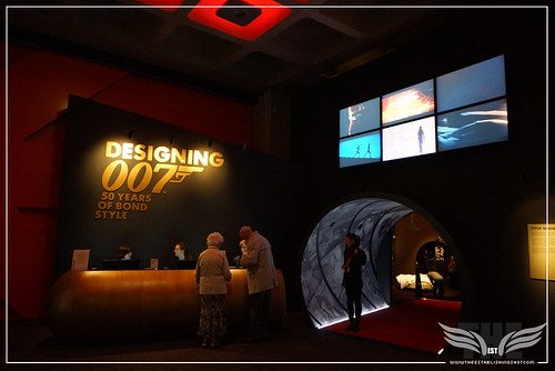 The Establishing Shot: Designing 007 50 Years Of Bond Style - Curve Entrance (Title Sequences Area) by Craig Grobler