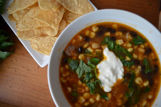 Mexican Black Bean and Corn Soup | My Halal Kitchen
