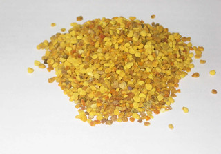 Bunch of Bee Pollen Granules