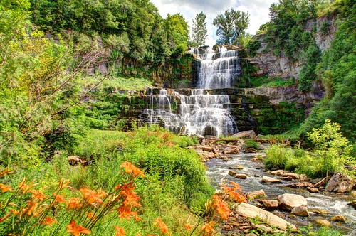 usa water river landscape waterfall newyorkstate hdr scenicsnotjustlandscapes