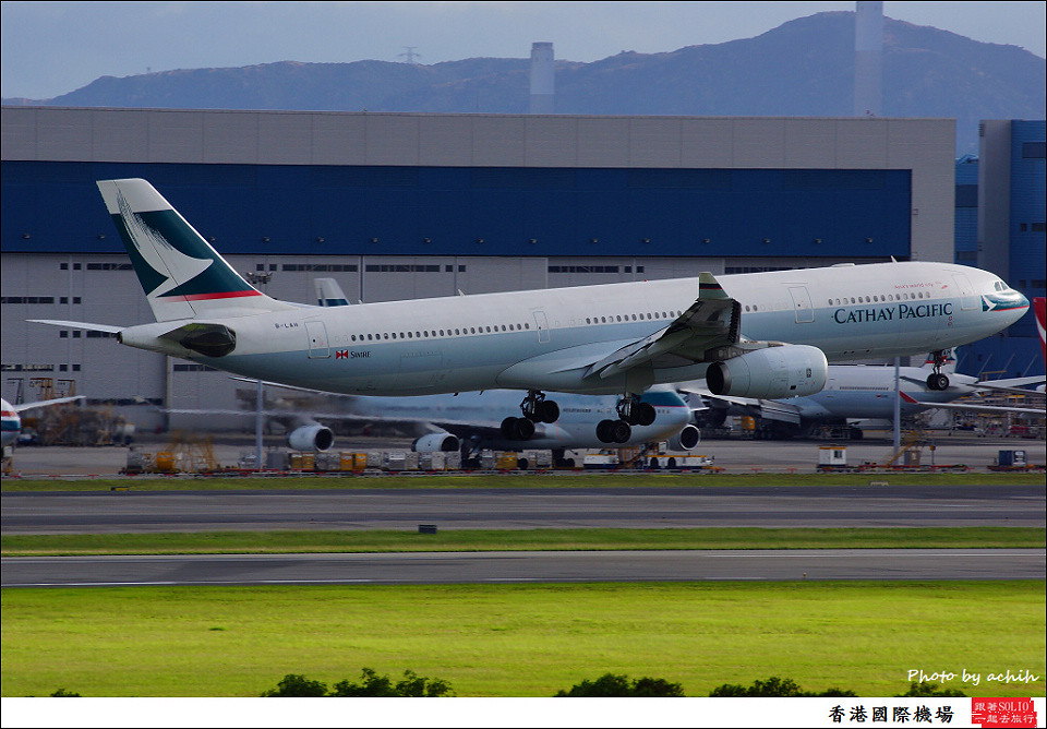 Cathay Pacific Airways / B-LAH / Hong Kong International Airport