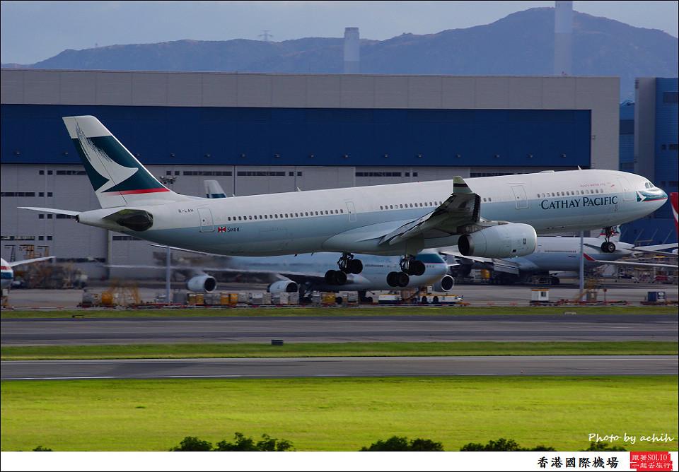 Cathay Pacific Airways / B-LAH / Hong Kong International Airport