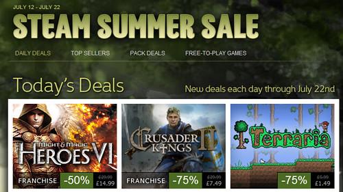 Steam Summer Sale Finally Lands
