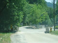 Bridge outside of mine entrance