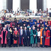 Approximately 75 presidents of public land-grant colleges and universities gathered at the Lincoln Memorial in Washington, D.C. on Monday, June 25 to honor Abraham Lincoln and his role in the passage of the Morrill Act of 1862.