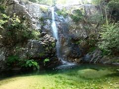 Ravin de Frassiccia : la cascade de la confluence Frassiccia/Velacu