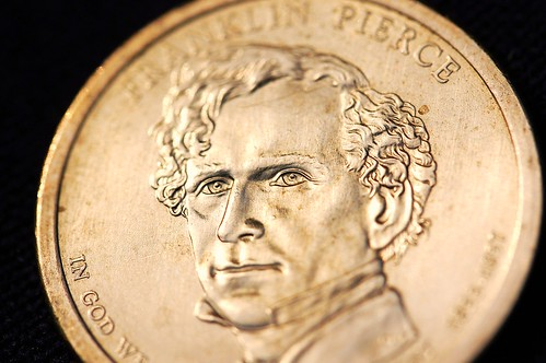 Franklin Pierce Dollar by bcarlson33