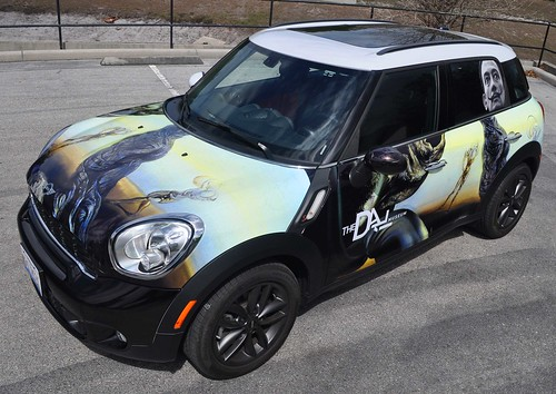 Mini car wrap from TechnoSigns in Orlando