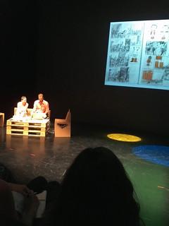 """Benjamin Chaud y Arianna Squilloni: """"Ilustrar un álbum: mis problemas y algunas soluciones."""