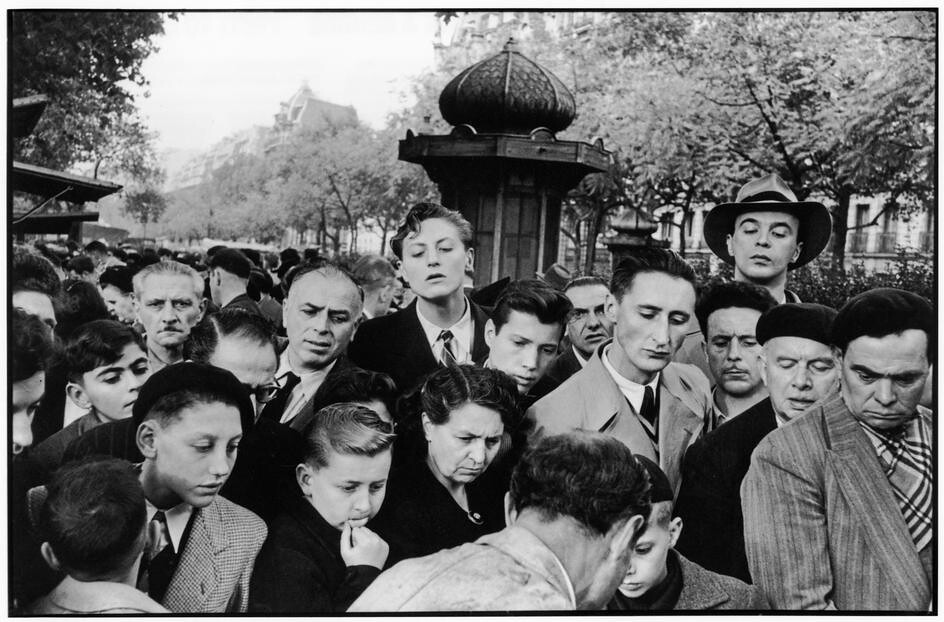 Photos by henri cartier bresson for Hotel boulevard richard lenoir paris