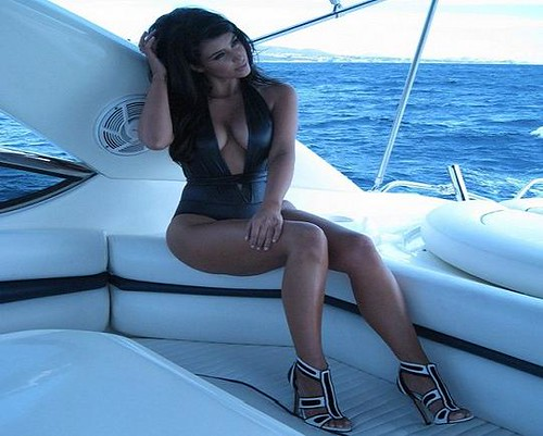 Kim Kardashain Bathing Suit