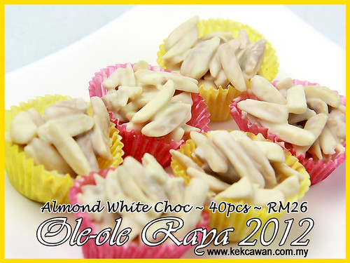 Almond White Choc