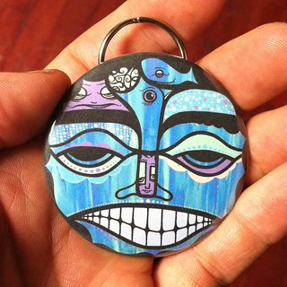 the shaman - keychain