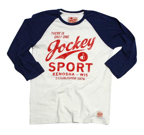 JOCKEY SPORT RUCKER T-SHIRT