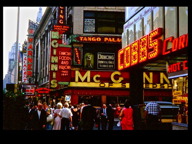 Vintage Times Square NYC Photo 1950s