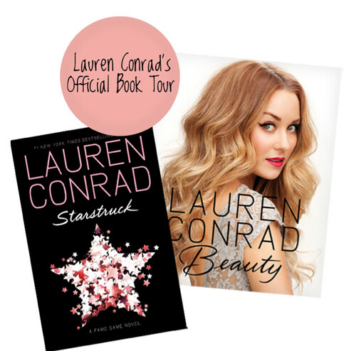 My Official Book Tour: Starstruck & Lauren Conrad Beauty