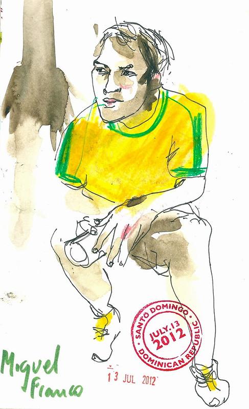 Dibujo Miguel Franco a 300