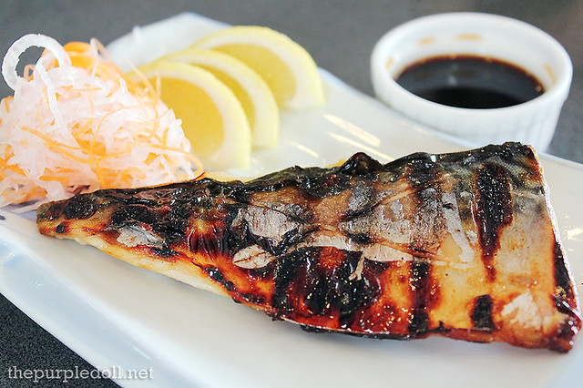 Grilled Saba Mackerel with Ponzu Sauce P280