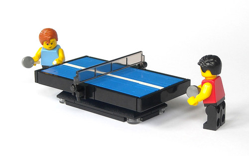A Game Of Ping Pong The Brothers Brick The Brothers Brick