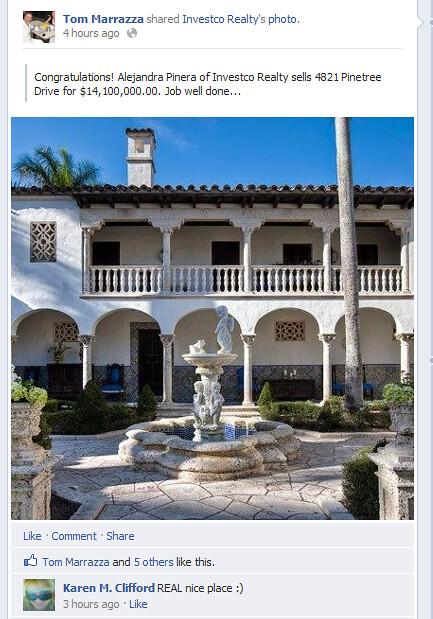 Villa Vecchia SOLD $14.1M
