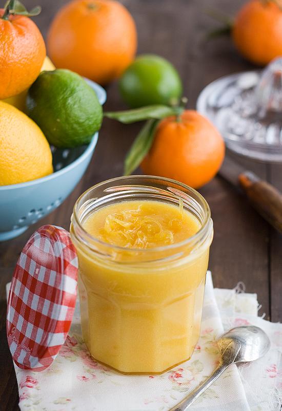 Cómo hacer orange Curd