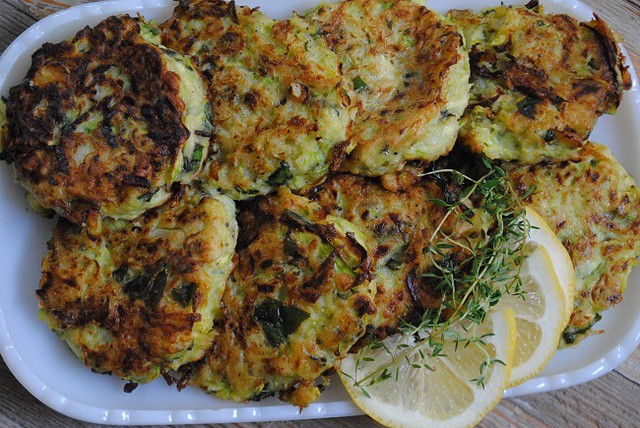 Savory Zucchini Fritters by Yvonne Maffei of My Halal Kitchen