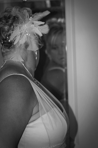 A Bride's Private Moment